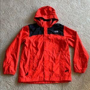 North face windbreaker /rain coat